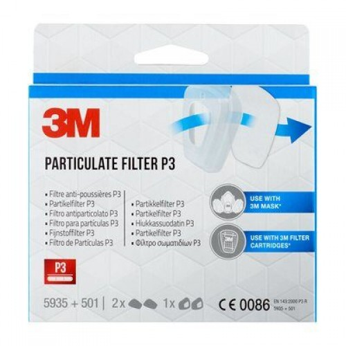 3M Particulate Filter 5935 For P3 For 6000 & 6500 Series