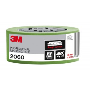 """3M™ 2060 Rough Surface Professional Masking Tape 2"""" / 48mm"""