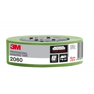 """3M™ 2060 Rough Surface Professional Masking Tape 1.5"""" / 36mm"""
