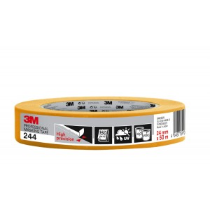 "3M™ 244 High Precision Professional Masking Tape 1"" / 24mm"
