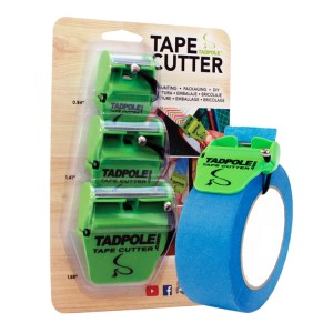 TadPole Tape Cutter 3 Pack