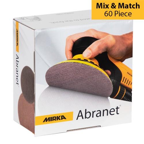 Mirka Abranet 150mm Discs Mix & Match 60 Piece
