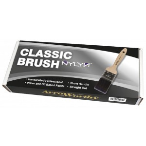 Arroworthy Classic Brush Straight Cut 3 Pack + FREE MINI ROLLERS