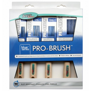 Axus Blue Pro Brush 4 Pack