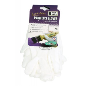 Axus Painters Gloves Large 5 Pack (LIMITED EDITION)