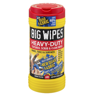 Big Wipes Heavy Duty Wipes 80 Pack + FREE HAND CREAM