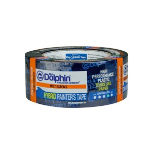 "Blue Dolphin Hybrid Painter's Tape 1.5""/36mm"