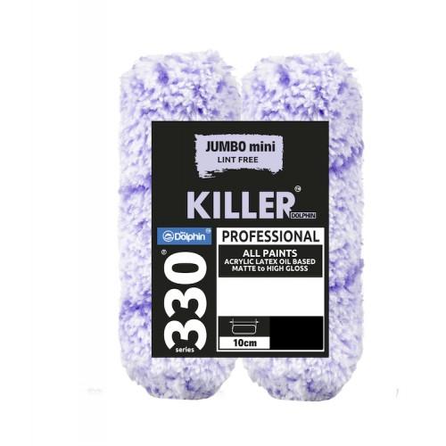 "Blue Dolphin ""Killer"" Microfiber Jumbo Mini Sleeve 13mm Nap"