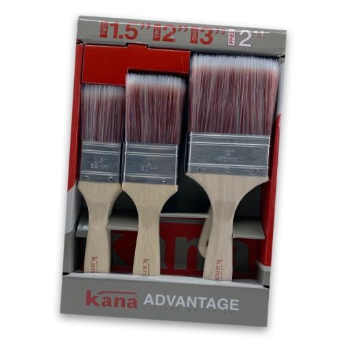 Ciret Kana Advantage Brush Set 5 pack