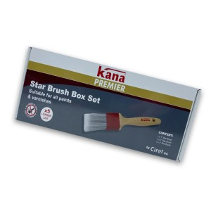 Ciret Kana Star Brush Set 3 Pack