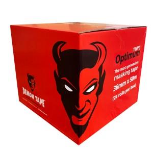 "Demon Optimum110°C  Masking Tape 1.5"" / 36mm Box of 24"
