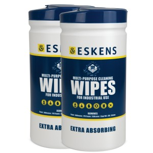 Eskens Multi-Purpose Cleaning Wipes 2 x 100 Pack