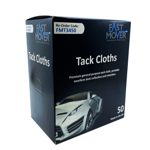 Fast Mover Tack Cloths Box of 50
