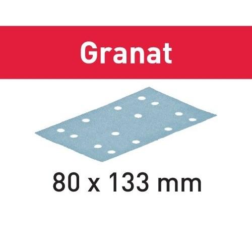 Festool Granat StickFix 80 x 133mm Sanding Strips