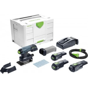 Festool Cordless orbital sander RTSC 400 Li 3,1 I-Set GB