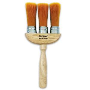The Fox 3 Ring Dust Brush