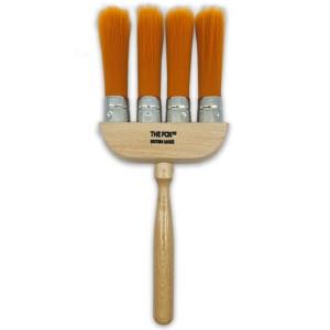 The Fox 4 Ring Dust Brush