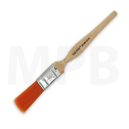 "The Fox Original 0.75"" Straight Cut Paint Brush"