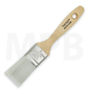 "The Fox Silver 1.5"" Flat Brush"
