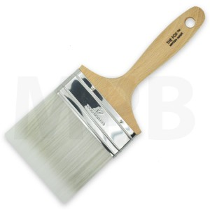 "The Fox Silver 4"" Flat Brush"