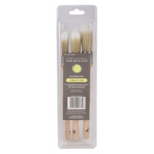 Hamilton Prestige Synthetic Sash Brush 3 Pack