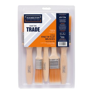 Hamilton For The Trade Fine Tip Brushes 5 Pack