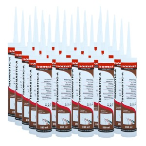 Isomat Isomatic-A Acrylic Sealant 280ml (Case of 25)