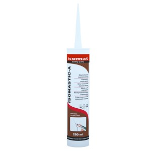 Isomat Isomatic-A Acrylic Sealant 280ml (Single)