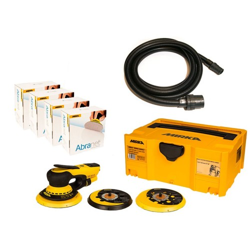 Mirka Deros 5650CV Solution Kit with Abranet 125mm