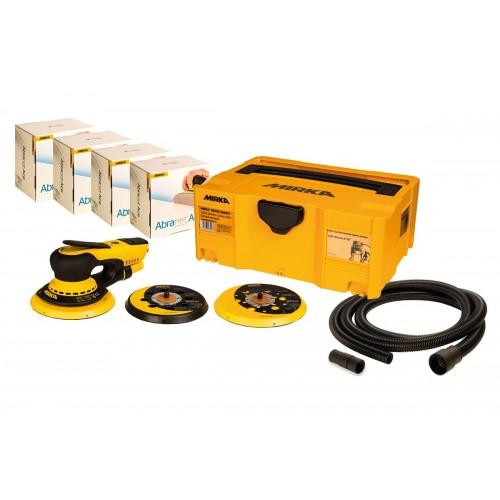 Mirka Deros 5650CV Solution Kit with Abranet Ace