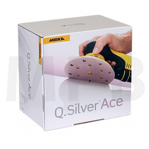 Mirka Q-Silver Ace 150mm Discs Pack Of 100 *Stock Clearance*