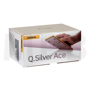 Mirka Q-Silver Ace 81 x 133mm Strips Pack Of 100 *Stock Clearance*
