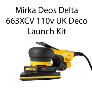 Mirka Deos Delta 663XCV 100x152x152mm 110V UK Deco PRE ORDER NOW