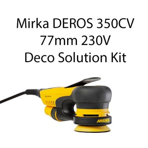 Mirka DEROS 350CV 77mm 230V Deco Solution Kit