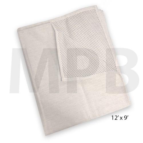 Cotton Non-Slip Dust Sheet 12ft x 9ft