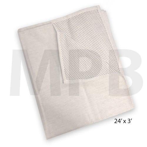 Cotton Non-Slip Dust Sheet 24ft x 3ft