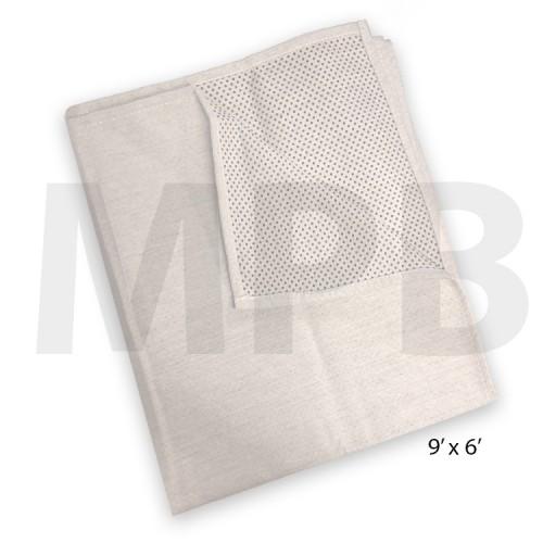 Cotton Non-Slip Dust Sheet 9ft x 6ft