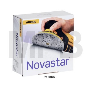 Mirka Novastar 125mm 25 Pack