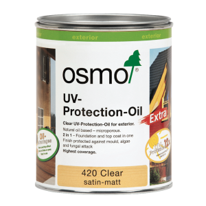 Osmo UV-Protection Oil Extra Clear Satin 750ml
