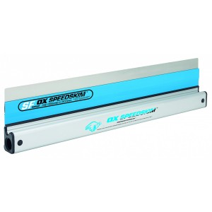 OX Speedskim Stainless Steel Flex Finishing Rule 450mm
