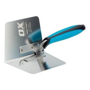 OX Pro Dry Wall Internal Corner Trowel 102 x 127mm