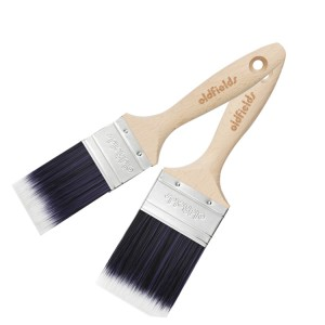NEW Oldfields Pro Series Oval Rectangle Wall Brush 2 Pack