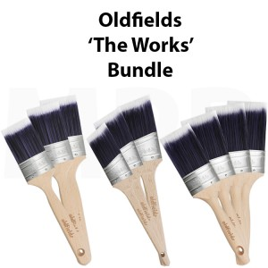 SAVE 14% Oldfields Pro Series Oval 'The Works' 10 Pack