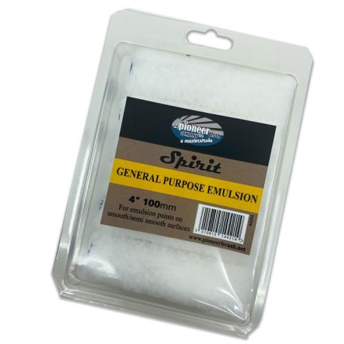 """Pioneer Spirit General Purpose Emulsion Roller Sleeve 4"""" 10 Pack"""