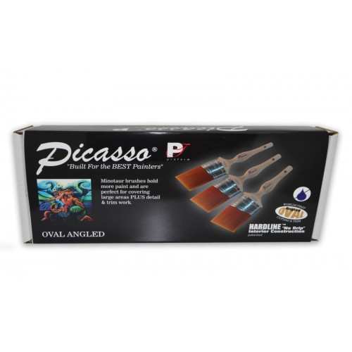 Picasso Minatour Angled Cut Set of 3
