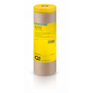 Q1 Pre Taped Masking Paper 300mm