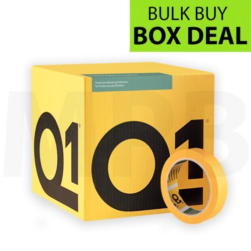 "Q1 Precision Line Masking Tape 1"" Box of 36"