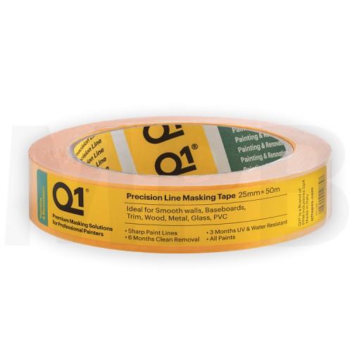 "Q1 Precision Line Masking Tape 1"""