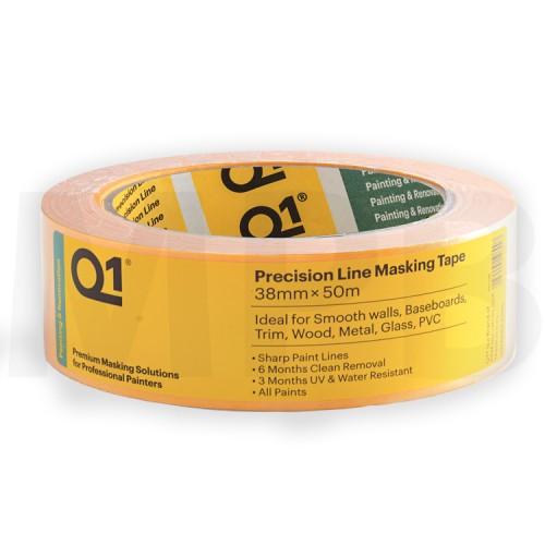 "Q1 Precision Line Masking Tape 1.5"""