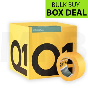 "Q1 Precision Line Masking Tape 2"" Box of 20 + FREE T SHIRT & ROLL OF PAPER"